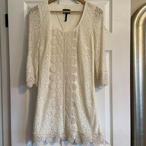 NWOT white lace LAUNDRY by Shelli Segal dress 2